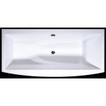Akmens masės vonia Vispool Relax, 170x80 balta