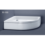 Akmens masės dušo padėklas Vispool, R-100 (R550)