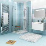 Termostatinis sieninis maišytuvas Ravak, dušui TE 032.00/150