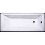 Akmens masės vonia Vispool Ette, 170x70 balta