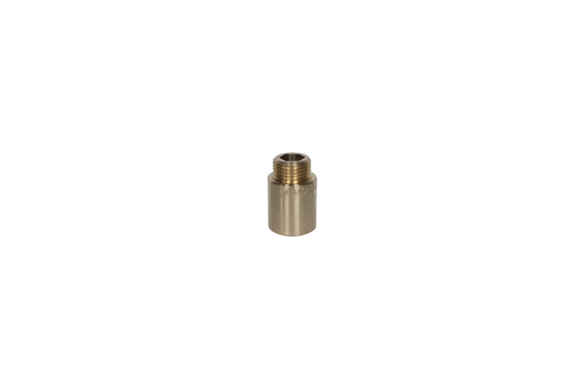 Žalvarinis pailginimas, d , 1/2'', 100 mm
