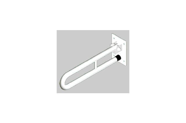 Atrama neįgaliesiems Corrado, atlenkiama, 600 mm, balta