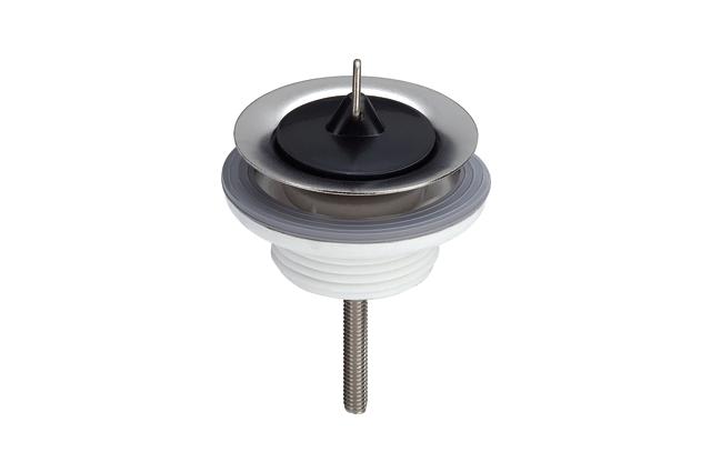 Sifono ventilis praustuvui VIEGA plastikinis su kamščiu
