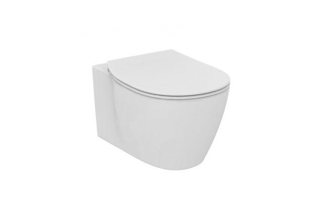 Dangtis WC Ideal Standard Connect, Thin lėtai nusileidžiantis