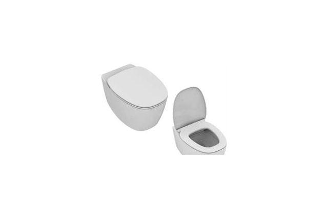 WC IDEAL STANDARD DEA Rimless pakabinamas su soft-close dangčiu