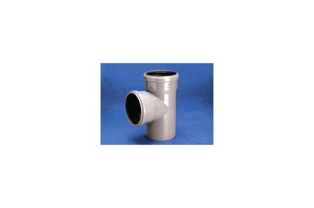 Vidaus kanalizacijos trišakis WAVIN OPTIMA, d , 50-40, 88*