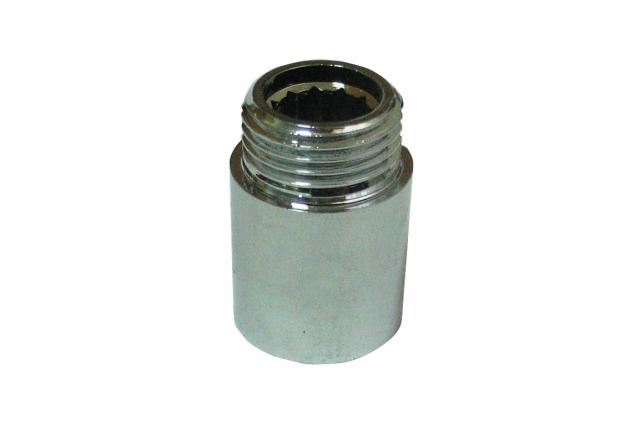 Žalvarinis chromuotas pailginimas VIEGA, d 1/2', , 25 mm