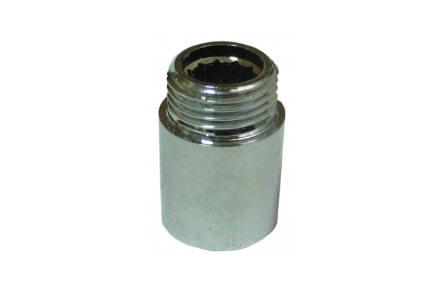 Žalvarinis chromuotas pailginimas VIEGA, d 1/2', , 40 mm