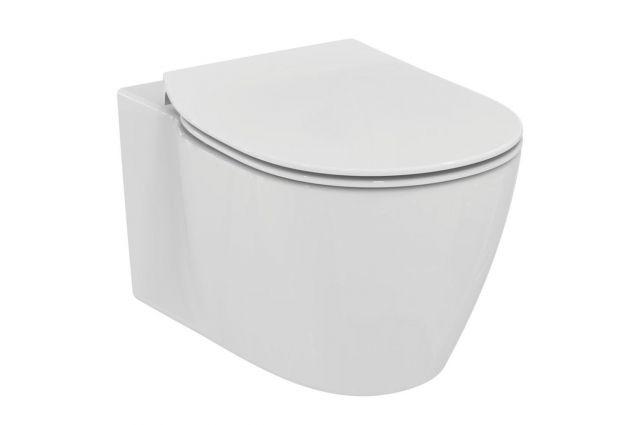 Jaukurai WC rėmo komplektas Geberit su Ideal Standard Connect Aquablade ir soft-close dangčiu