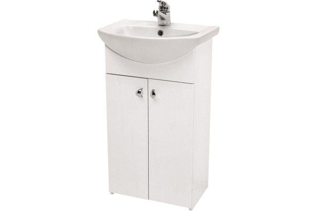 Vonios spintelė Cersanit, Bianco 50 be praustuvo