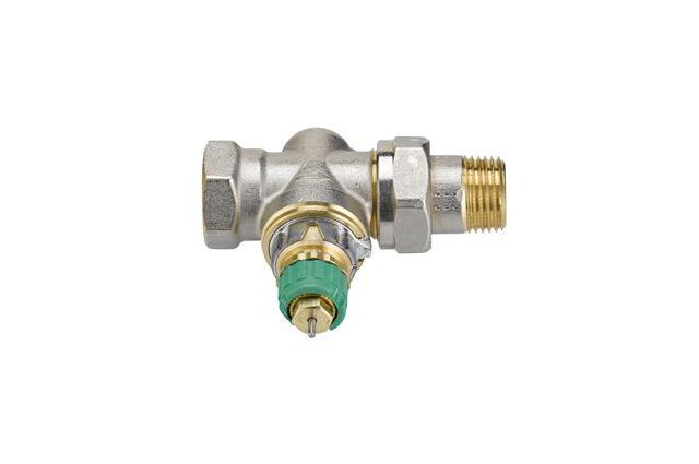 Dinaminis termostatinis ventilis Danfoss, RA-DV tiesus DN15