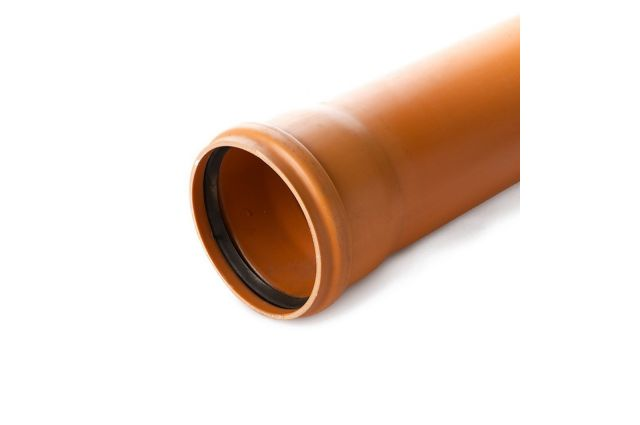 Lauko kanalizacijos vamzdis Wavin N klasė, d, 110-3.2-2000 mm