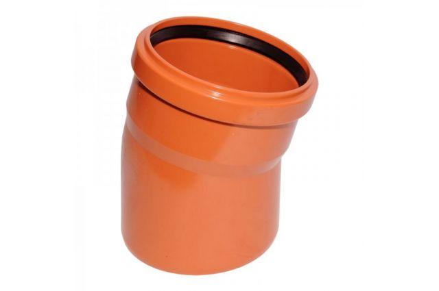 Lauko kanalizacijos alkūnė Wavin, d , 110, 15*