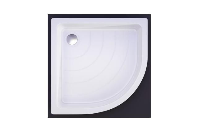 Akmens masės dušo padėklas Vispool, R-80 (R500)