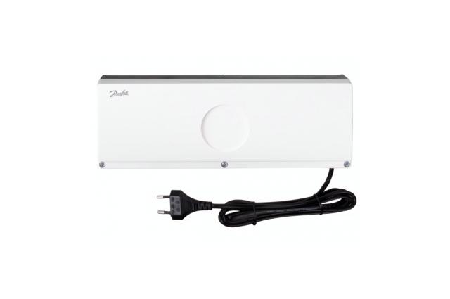 Grindų šildymo valdiklis DANFOSS FH-WC 230V, pavaros 24V, 10 zonų