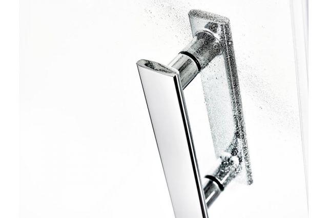 Pusapvalė dušo kabina Ravak SmartLine, SMSKK4-80 chromas+stiklas Transparent
