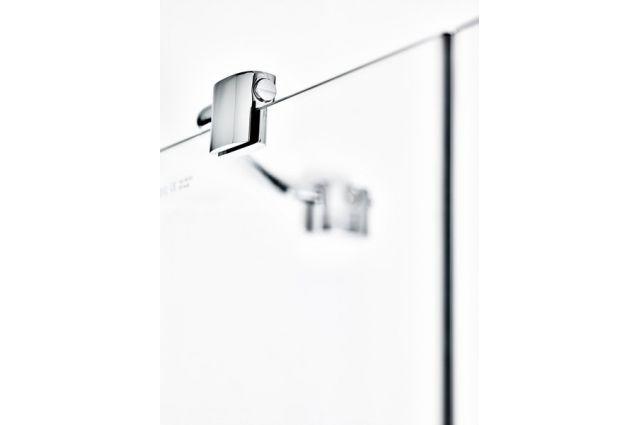 Kvadratinė dušo kabina Ravak SmartLine, SMSRV4-80 chromas+stiklas Transparent