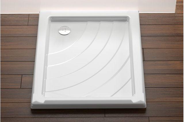 Akrilinis dušo padėklas Ravak Aneta, 75x90 LA baltas