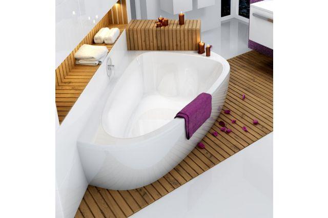 Asimetrinė vonia Ravak LoveStory II, kairinė