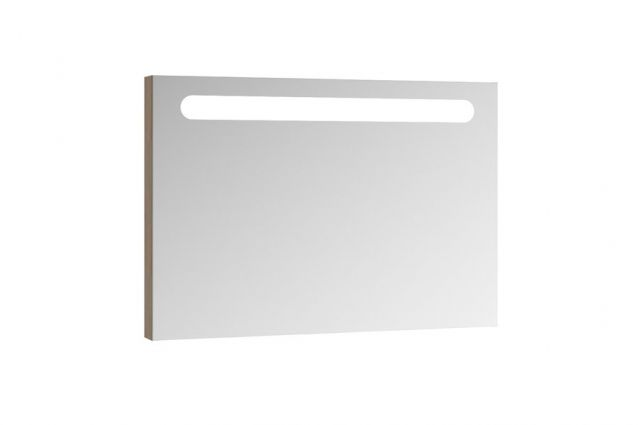 Veidrodis Ravak Chrome su apšvietimu, 60 cm cappuccino