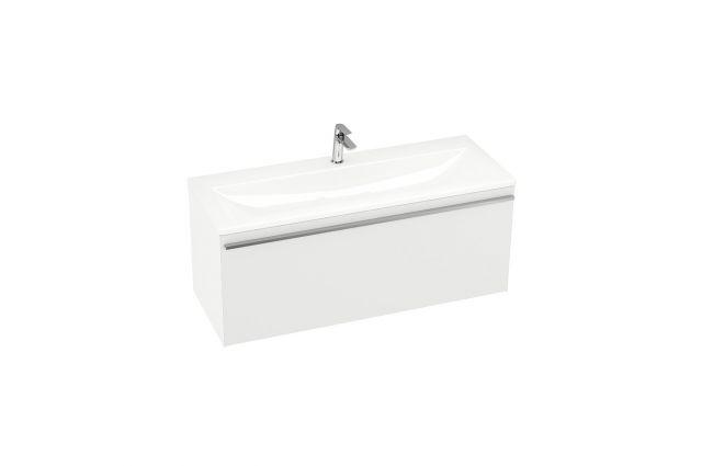 Spintelė po praustuvu Ravak SD Clear, 800 balta/balta