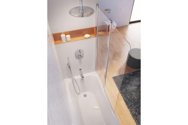 Čiaupas Ravak Chrome, CR 027.00, potinkiniam vonios/praustuvo maišytuvui