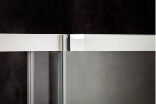 Stumdomos dušo durys Ravak Matrix, MSD2-100, L balta+Transparent