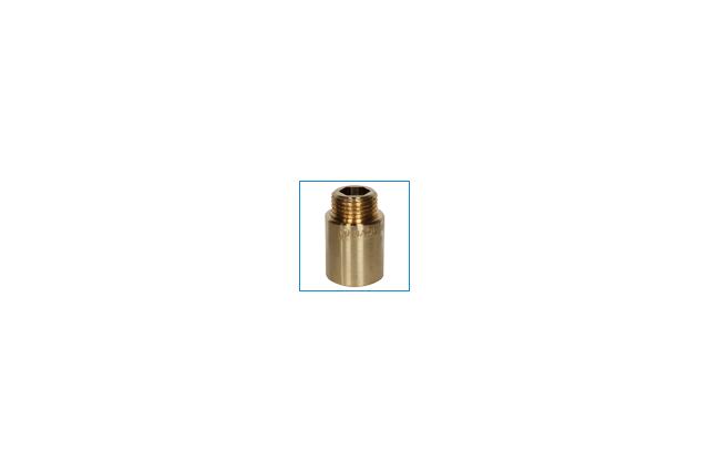 Žalvarinis pailginimas, d , 1/2'', 65 mm
