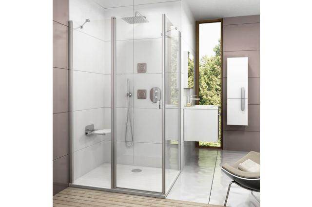 Termostatinis potinkinis maišytuvas Ravak Chrome, voniai/dušui CR 063.00, su jungikliu