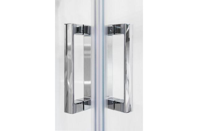 Dušo kabina Ravak 10°, 10RV2-90, balta+Transparent (dvi sienelės)