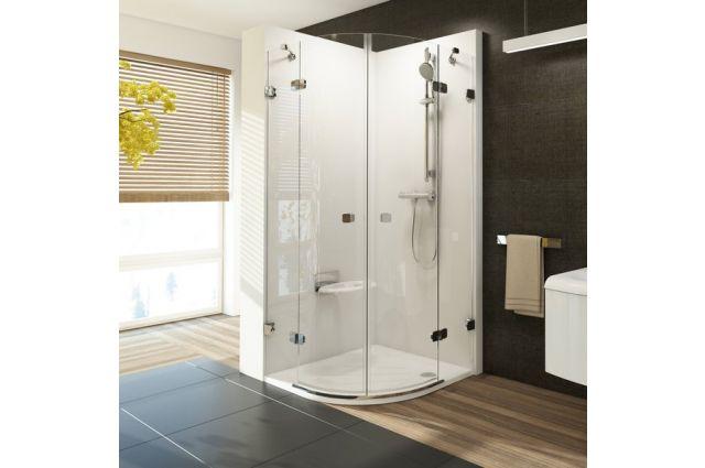 Montavimo rinkinys dušo kabinoms ir sienelėms Ravak Brilliant ir Walk-In, B SET, BSRV4, BSKK4-80, 90 chromas