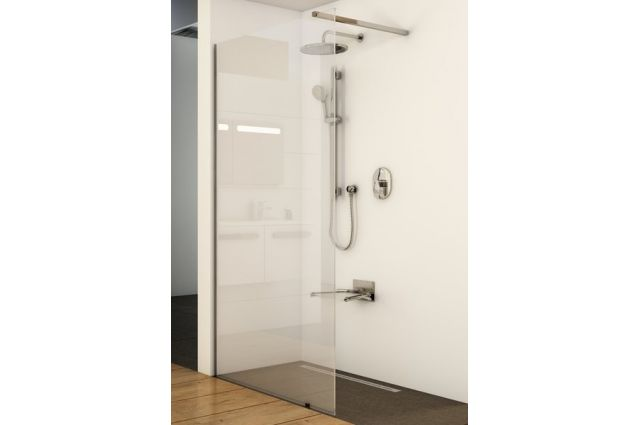 Dušo kabina Ravak Walk-in Wall, 60x200 bright alu+Transparent