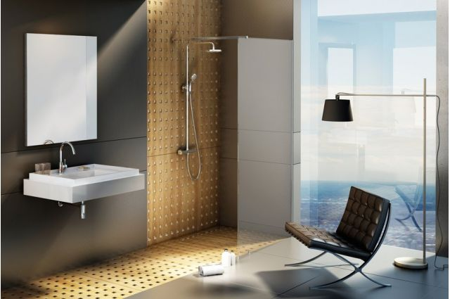 Dušo kabina Ravak Walk-in Wall, 150x200 bright alu+Transparent