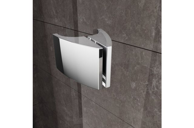 Pusapvalė dušo kabina Ravak Pivot, PSKK3-80, balta/balta+stiklas Transparent