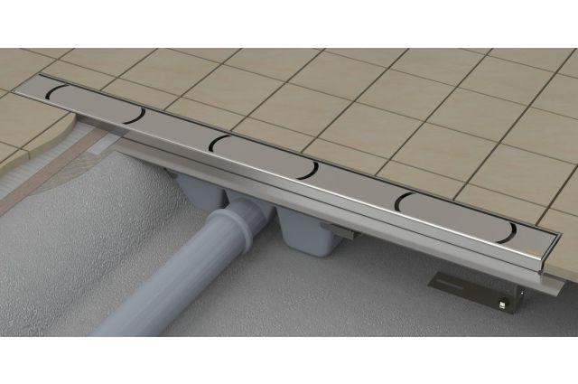 Dušo latakas Ravak Chrome, OZ, 750 nerūdijantis plienas