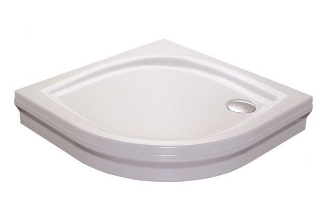 Akrilinis dušo padėklas Ravak Elipso, 80 PAN baltas