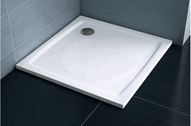 Lietas dušo padėklas Ravak Perseus Pro, 80 baltas