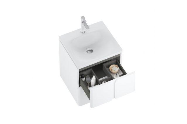 Spintelė po praustuvu Ravak SD Balance, 500, balta/balta