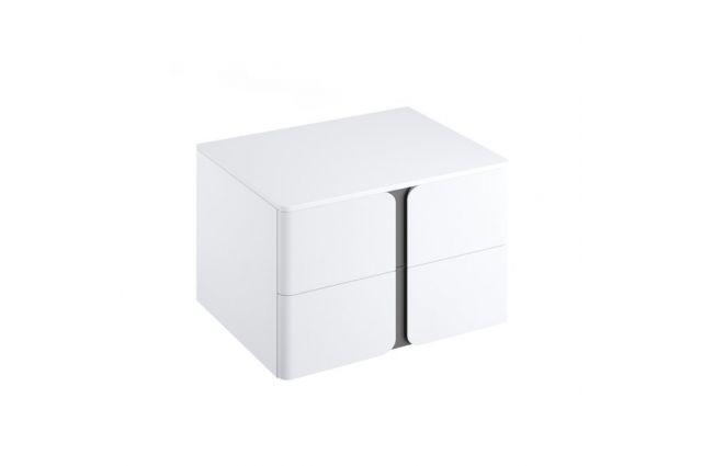 Spintelė po praustuvu Ravak SD Balance, 800, balta/balta
