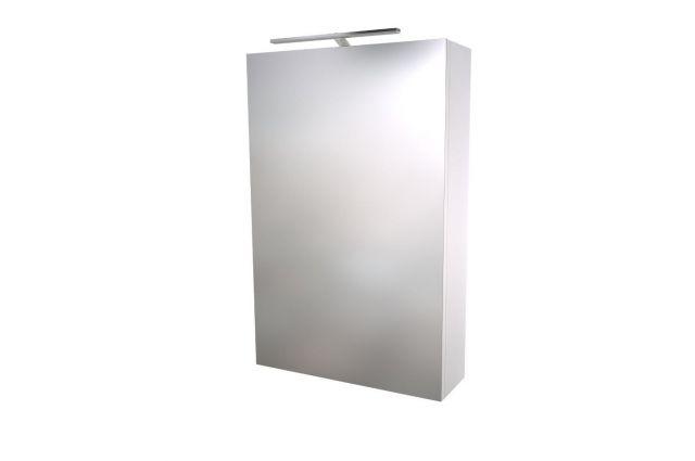 Veidrodinė spintelė Raguvos Baldai Scandic, 46 cm balta