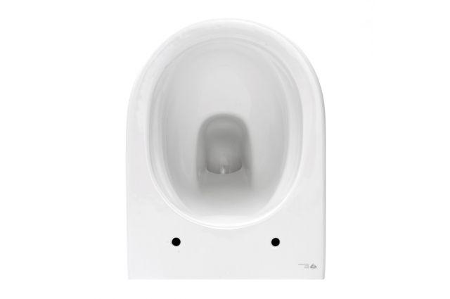 Pakabinamas WC Swiss Aqua Technologies, Brevis Rimfree, su lėtai nusileidžiančiu dangčiu