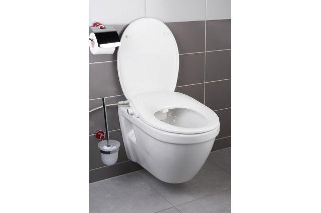 Dangtis WC Swiss Aqua Technologies, Easy lėtai nusileidžiantis, su bidė funkcija