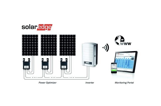 Solar Edge optimizatorius