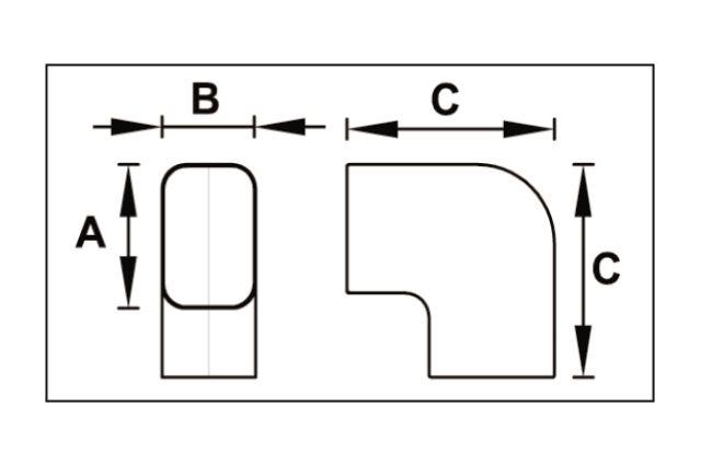 Jaukurai kanalai latakai ir priedai kondicionieriams