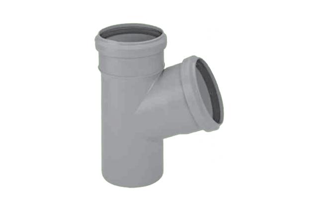 Vidaus kanalizacijos trišakis HTEA, d , 50-40, 45*