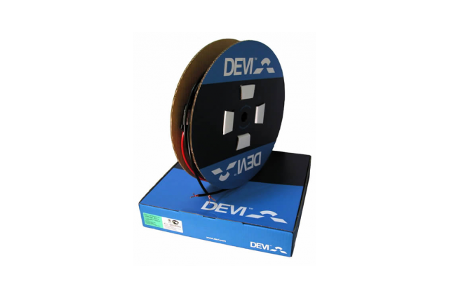 Elektrinio šildymo kabelis DEVI DSIG-20/400V , 126m 2550W