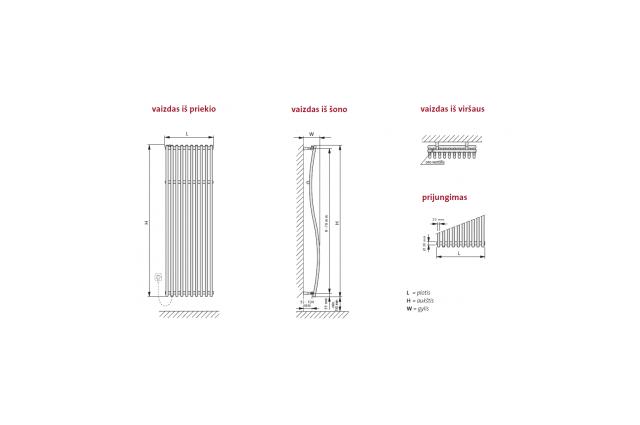 Rankšluosčių džiovintuvas PURMO IMIA , 510-1600 850 W