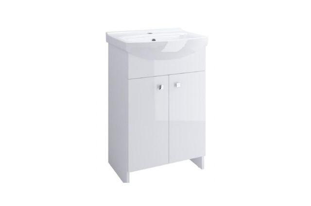 Vonios spintelė Cersanit, Cersania 50 su praustuvu