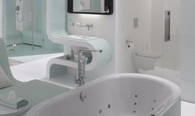 Kol kas negalime tik spręsti, koks bus vonios kambario dizainas ateityje