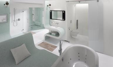 Neribotos futuristinių technologijų galimybės vonioje